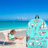 Summer Activities Backpack Design #1 - FREE SHIPPING