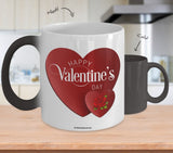 Valentine Heart Mug #1 (8 Options Available)