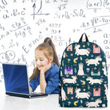 Fairy Tales Backpack (Unicorns Design #1) - FREE SHIPPING