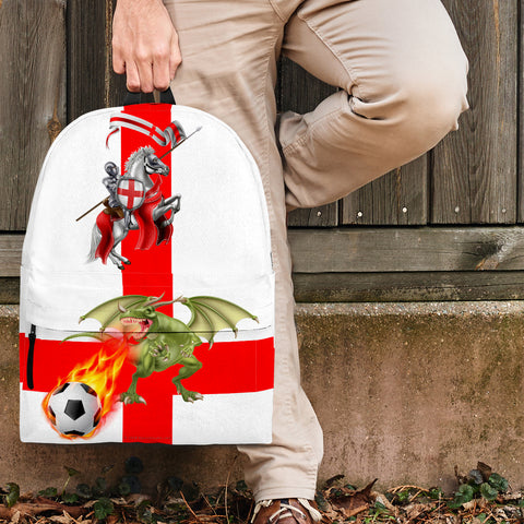 England Soccer Fan Backpack - FREE SHIPPING