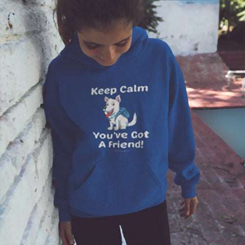Keep Calm - You've Got A Friend - West Highland Terrier Youth Hoodie