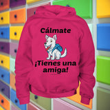 Cálmate - ¡Tienes Una Amiga! - West Highland Terrier Youth Hoodie