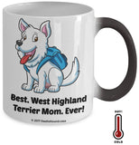 Best West Highland Terrier Dad / Mom Ever Color-Changing Coffee Mug