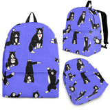 Yoga Cats Backpack (Light Purple) - FREE SHIPPING