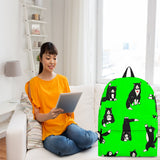 Yoga Cats Backpack (Green) - FREE SHIPPING