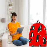 Yoga Cats Backpack (Red) - FREE SHIPPING