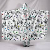 Cats Galore Hooded Blanket - FREE SHIPPING