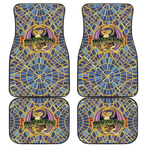 Dragon Con Car Floor Mats (With Logo, Front & Back) - FREE SHIPPING