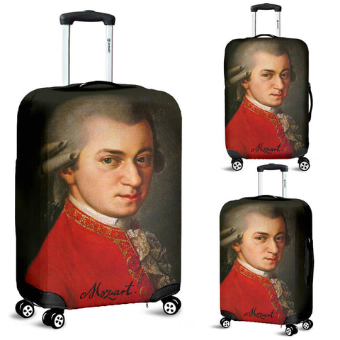Wolfgang Amadeus Mozart Luggage Cover - FREE SHIPPING