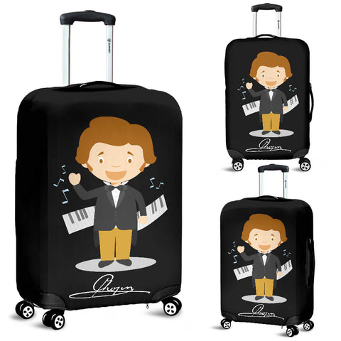 Famous Composers (Chopin) Luggage Cover - FREE SHIPPING