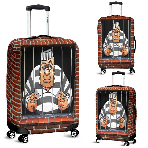 Man In Prison Luggage Cover - FREE SHIPPING