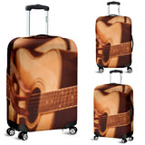 Guitar Player Design #1 Luggage Cover - FREE SHIPPING