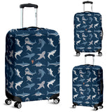 Shark Pattern #1 Luggage Cover - FREE SHIPPING