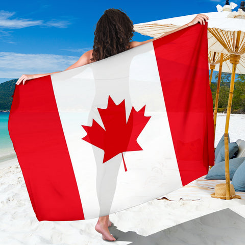 Canadian Flag Sarong - FREE SHIPPING