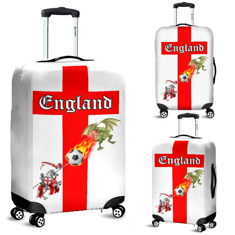 England Soccer Fan Luggage Cover - FREE SHIPPING