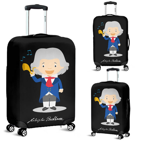 Famous Composers (Beethoven) Luggage Cover - FREE SHIPPING
