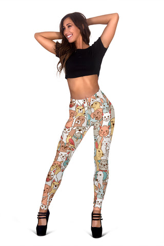Crazy Pets Leggings - FREE SHIPPING