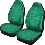 Nautical Design Car Seat Covers (Dark Green) - FREE SHIPPING
