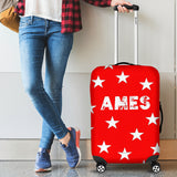Ames Luggage Cover (Design A) - FREE SHIPPING