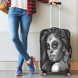 Calavera Fresh Look Design #2 Luggage Cover (Vintage Retro) - FREE SHIPPING