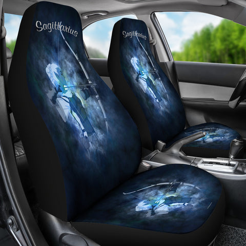Sagittarius Zodiac Sign Car Seat Covers - FREE SHIPPING