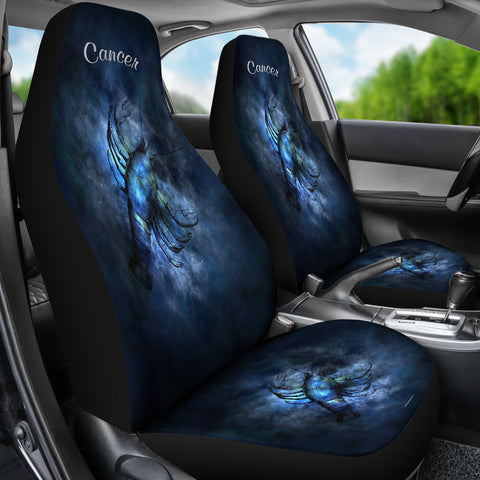 Cancer Zodiac Sign Car Seat Covers - FREE SHIPPING