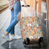 Crazy Dogs Collection Luggage Cover - FREE SHIPPING