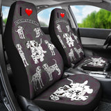I Love Dalmatians Car Seat Covers - FREE SHIPPING