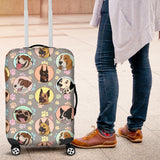 Dogs Galore Luggage Cover - FREE SHIPPING