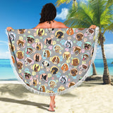 Dogs Galore Beach Blanket - FREE SHIPPING
