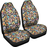 Dogs Galore Car Seat Covers (Paw Prints)  - FREE SHIPPING