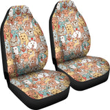Crazy Dogs Car Seat Covers - FREE SHIPPING