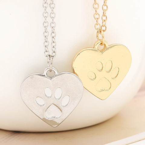 I Love Pets Necklace – Show Support For Pet Rescuers!
