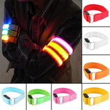 LED Safety Arm Bands – In 7 Fun Colors!