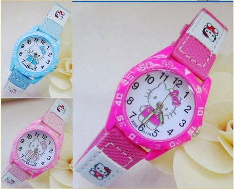 Girl's Hello Kitty Daily Quartz Watch – In 7 Colors!