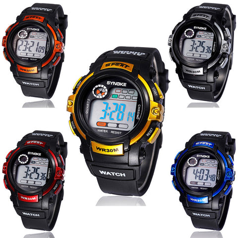 Cool Unisex Digital LED Multifunction Sports Watch – In 5 Colors!