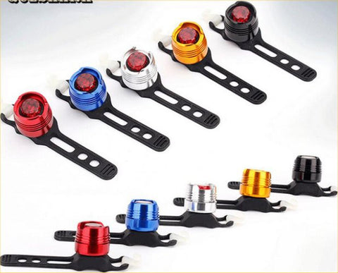 Rear Bicycle Safety Light – In 10 Fun Colors!