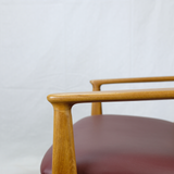 Arms of 'Ellen' Armchair in Teak by Arne Vodder