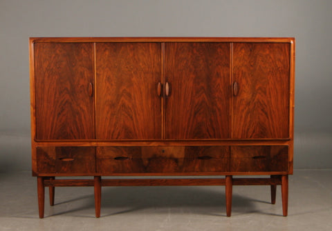 High Rosewood Sideboard