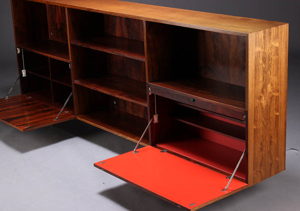 Rosewood Bookcase by  Kofod - Larsen