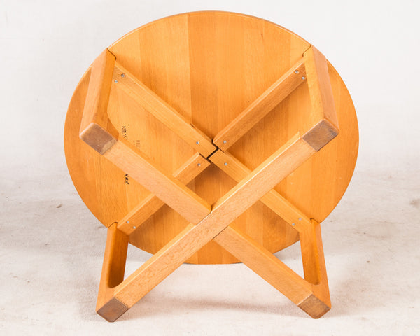 Round Teak Cofee Table