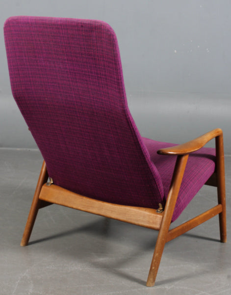 High Back Armchair by Alf Svensson
