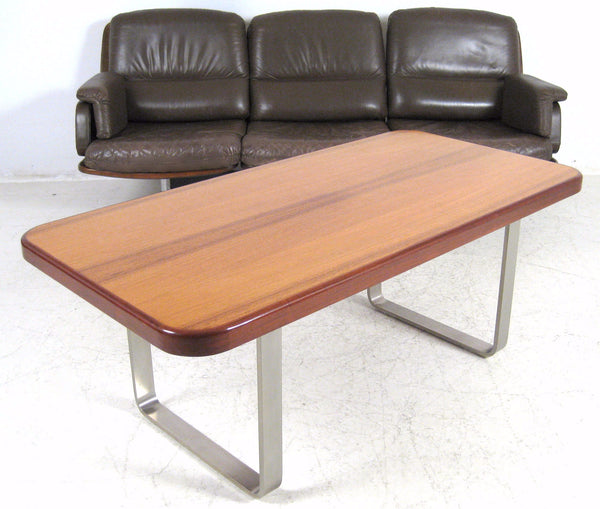 Rosewood / Steel Coffee  Table
