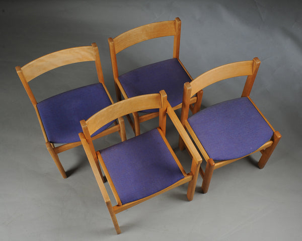 Hans J. Wegner Set of 4 Chairs