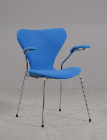 Arne Jacobsen Armchair Model 3207  Syveren