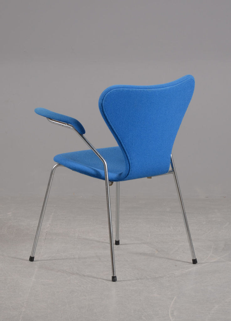 Arne Jacobsen Armchair Model 3207 Syveren Mostly Danish