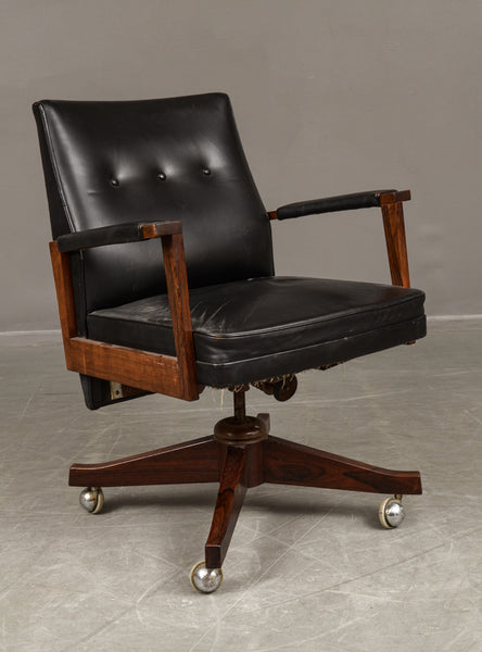Rosewood Office Chair