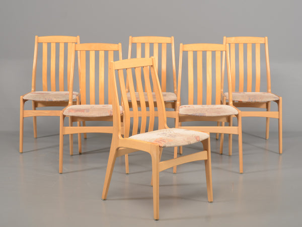 Lacquered Beech Dining Chairs