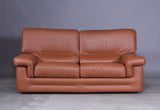 Two-Seater Leather Sofa