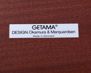 Getama Manufacturer Label with Design by Takashi Okamura and Erik Marquardsen